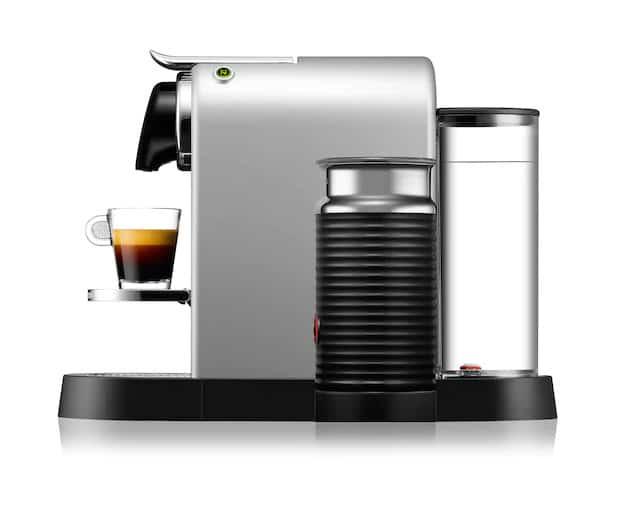 Nespresso citiz&milk con areoccino integrato